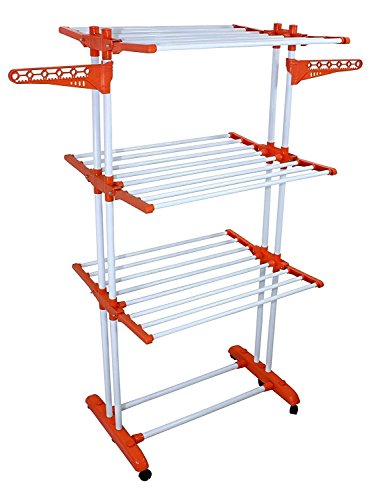 BRANCO Heavy Cloth Dryer Stand - Prince Jumbo (Life Time Warranty Made in India) - BRC-786