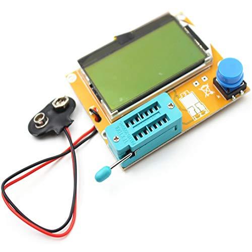 Swiftswan LCR-T4 LCD Digital Transistor Tester Meter Hintergrundbeleuchtung Diode Triode Kapazität ESR Meter Für MOSFET/JFET/PNP/NPN L/C/R 1