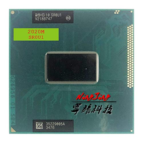 2020M 2020M SR0U1 SR0VN SR184 2.4 GHz Dual-Core Dual-Thread CPU Processor 2M 35W Socket G2 / rPGA988B