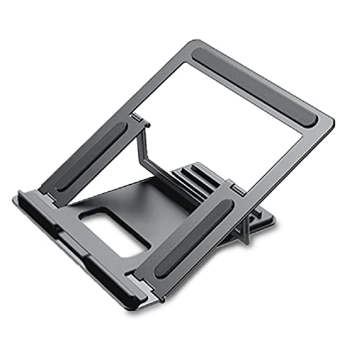 Frotox YOking Laptop Stand, Folding Aluminum Alloy Material Easy To Heat Laptop Stand, Four Angle-adjustable Ergonomic, Suitable for All Laptops in the Office Easily Set Up Office Laptop Outdoors
