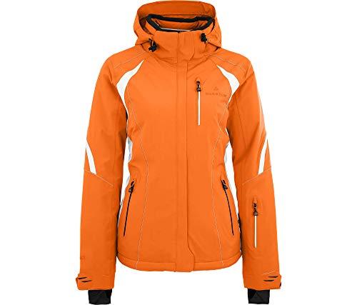 Bergson Damen Skijacke SNOWTASTIC, Persimmon orange [513], 40 - Damen