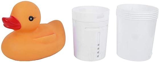 Cikonielf Dispensador De Productos Químicos Dispensador De Productos Químicos con Forma De Pato Lindo Dispensadores De Cloro para Piscinas Flotantes para Tabletas De 3 Pulgadas