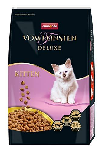 animonda Vom Feinsten Deluxe Kitten Katzenfutter, Trockenfutter für Katzen im Wachstum, Geflügel, 10 kg