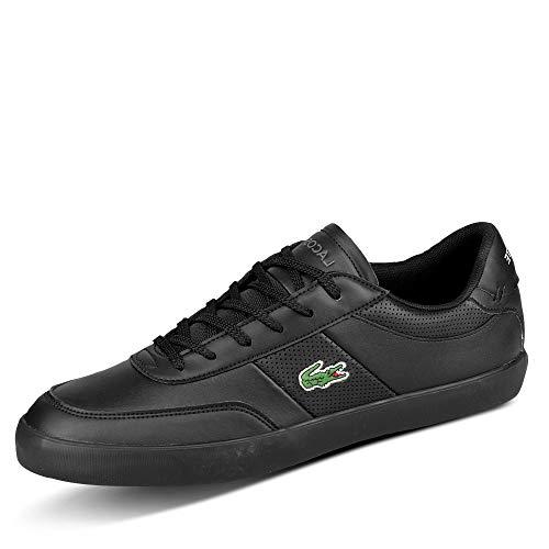 Lacoste Herren Court-Master 0120 1 CMA Sneaker, Blk/Blk, 42 EU