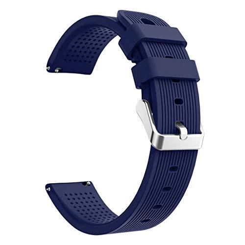 Cinnamou Cinturino in silicone morbido di ricambio per cinturino per orologio Samsung Galaxy attivo