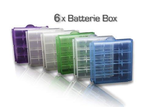 BD @ 6x batteria casi di archiviazione per 4x AA o 4x batterie AAA