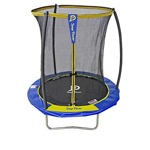 STARFLEX Trampolin Outdoor Jump Power, Kinder Gartentrampolin mit Sicherheitsnetz (183 cm)