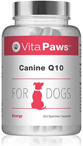 VitaPaws Q10 Canino| 120 Perlas | para favorecer la salud...