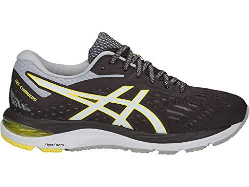 ASICS Women's Gel-Cumulus 20 Running Shoes, 9.5M, Dark Grey/White