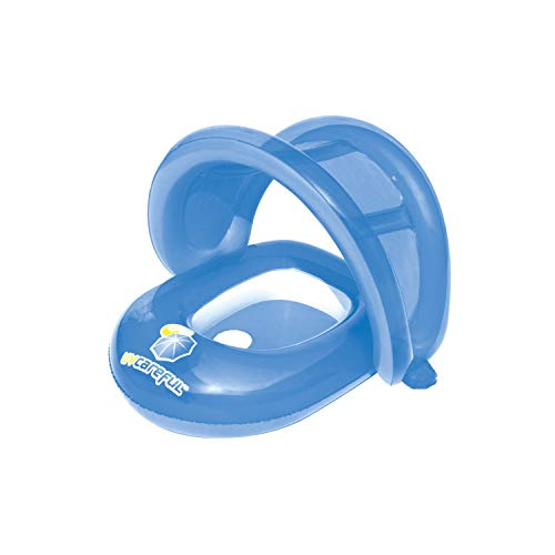 H2OGo Bestway - UV Careful Baby Care Seat Pool Float, Blue, Model Number: 10446