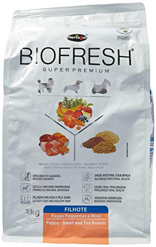 The Hercosul Biofresh Dog Food for Small Breed Puppies Biofresh For All Small Puppies, 3kg