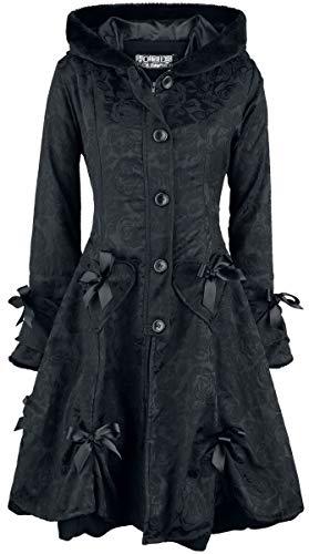 Poizen Industries Alice Rose Coat Frauen Wintermantel schwarz S 100% Polyester Industrial