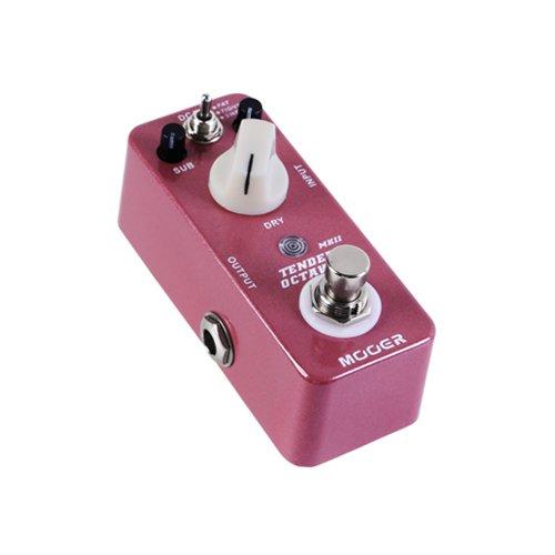 Mooer Tender Octaver Mkii - Pedal de efectos para guitarra: Amazon ...