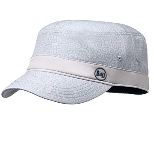 Buff Dharma Casquette Military Femme, Silver Grey, FR : M (Taille Fabricant : M/L)