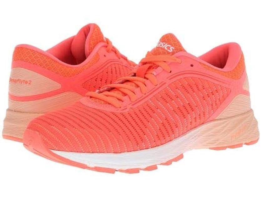 溝放射する偏見ASICS(アシックス) レディース 女性用 シューズ 靴 スニーカー 運動靴 DynaFlyte 2 - Coral/White/Apricot [並行輸入品]