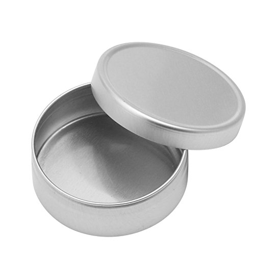 Top-Sell 1Pc Pot Boîtier Boîte Aluminium épice Baume Pommade Maquillage Fard Lèvre Vide Baume Nail Art Pot, 30ml