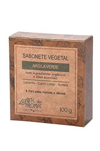 Sabonete Argila Verde Natural e Vegano Arte dos Aromas 100g