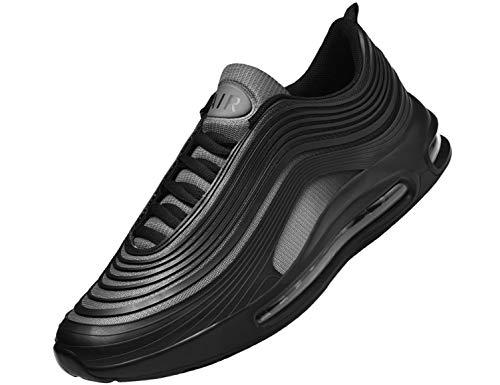 SINOES Herren Damen Sportschuhe Laufschuhe mit Luftpolster Turnschuhe Profilsohle Sneakers Leichte Schuhe