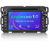 Android 10.0 Car Radio Stereo for GMC Sierra Yukon Chevrolet Buick Chevy Silverado DVD Radio,7 Inch Touch Screen Car Navigation Stereo with Bluetooth WiFi Mirror Link SWC CD