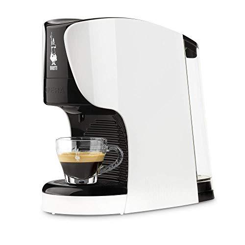Bialetti Opera Macchina da Caffè Espresso per Capsule in Alluminio sistema Bialetti il Caffè d'Italia, Bianca