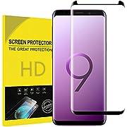 Annatim Für Galaxy S9 Schutzfolie, [Kratzer][9H Härte][HD Anti-Öl] [Blasen und Fingerabdruck] Einfaches Anbringen,Panzerglasfolie Displayschutzfolie für Samsung Galaxy S9