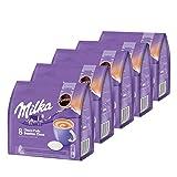 Senseo Milka Choco Pads - Juego de 5 cápsulas de chocolate (5 paquetes de 8 unidades)