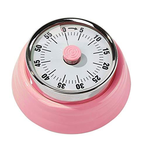 xMxDESiZ 60-Minuten-Küche Kochen Timer Lauter Alarm Startseite Backen Waschen Countdown Uhr rot