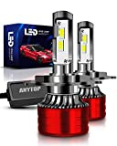 ANYTOP H4 LED Headlight Bulb, HB2 9003 High Low Beam...
