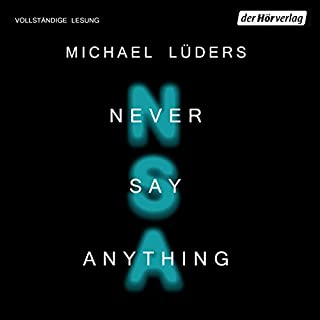 Never say anything Titelbild