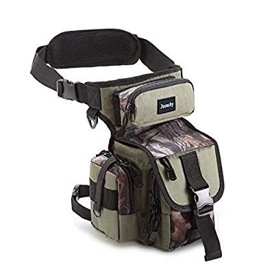 Jueachy Multifunctional Drop Leg Waist Bag, Tactical Military Thigh Hip Outdoor Pack