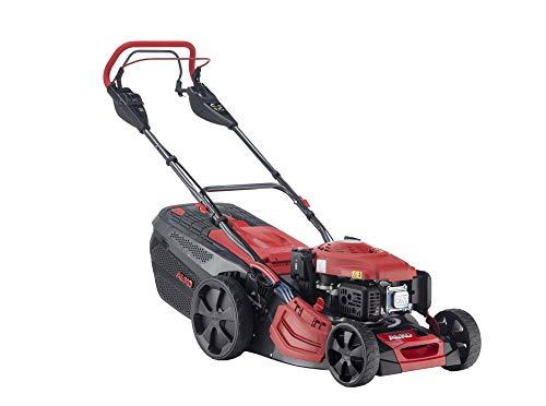 AL-KO Benzin-Rasenmäher Premium 470 SPI-A, 46 cm Schnittbreite, 2.6 kW Motorleistung, robustes Stahlblechgehäuse, Hinterradantrieb, Mulchfunktion, Seitenauswurf, Elektrostart