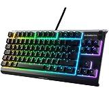 SteelSeries Apex 3 TKL - RGB Tastiera da Gaming - Fattore di Forma Compatto Senza tastierino...