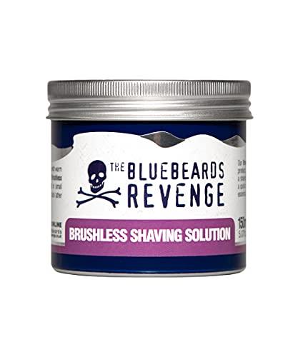 The Bluebeards Revenge Solución de afeitado sin escobillas – Loción de afeitado vegana – Alternativa rápida y fácil a las cremas de afeitado y geles – no requiere cepillo de afeitado (150 ml)
