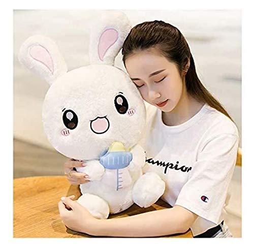 RSBCSHI Kaninchen Plüschpuppe, Kuschelspielwaren Puppen schlafende Komfort Kissen Kinder Erwachsene Valentines Geburtstagsgeschenk (Color : H, Size : 50cm)