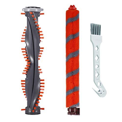 Bsnuo Soft Brush Roll and Powered Lift-Away Roller Brush Kit Cleaning Tool Replacement for Shark DuoClean NV800 NV801 NV803 UV810 HV380 HV381 HV382 HV383 HV384Q Vacuum
