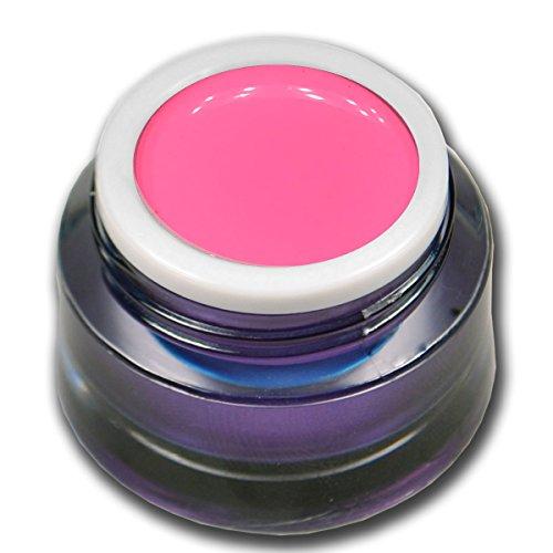RM Beautynails Candy Pop Gel coloré de qualité supérieure Rose fluo 5 ml