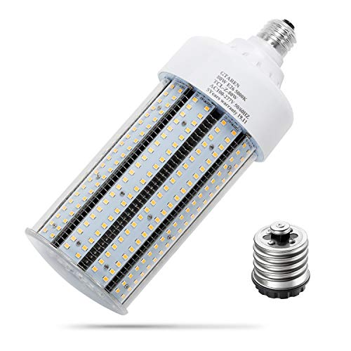 50w led Corn Light Bulb E26 E39 Base led Garage Bulbs,5000k, Led Replacement Incandesce CFL Metal Halide HID HPS lamp for Indoor Outdoor Garage Yard barn Warehouse Work Shop Gym