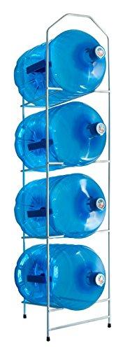 Desconocido Botellero para 4 botellones de Agua de 20 litros - Blanco