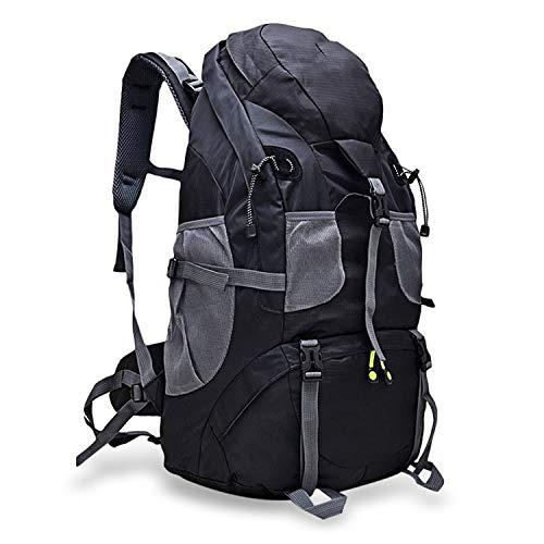 OASIS LAND 50L / 60L Outdoor Bags Climbing Camping Bag Waterproof Hiking Backpacks Sport Bag Travel Rucksack-50lBlack-OneSize