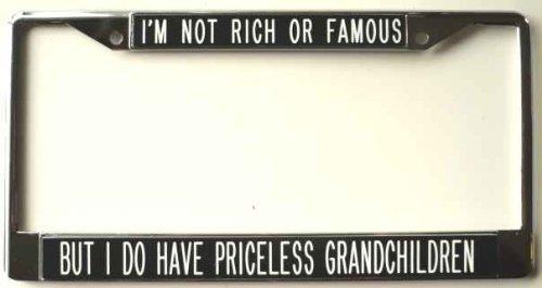grandchildren license plate frame - 1