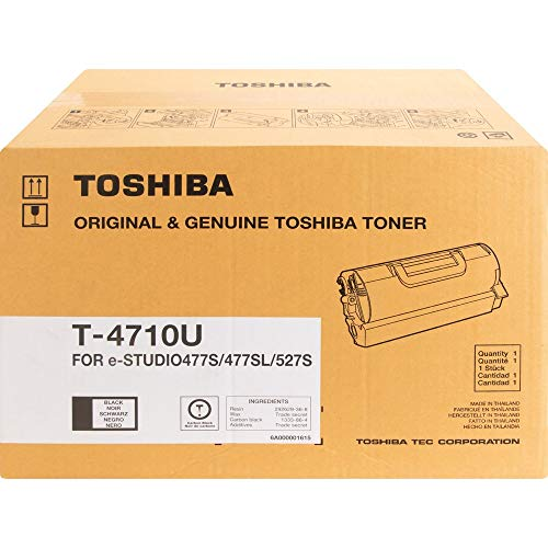 Toshiba T4710u Black Toner Cartridge For Use In Estudio 477S 477Sl 527S Estimate