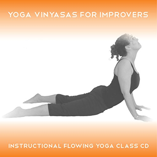 Yoga Vinyasas for Improvers audiobook cover art