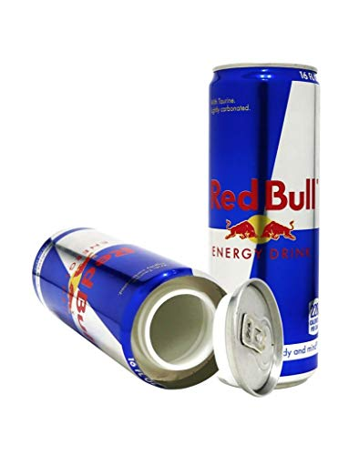Red Bull Diversion Safe Secret Stash Can 8 oz Auténtica lata de seguridad con peso