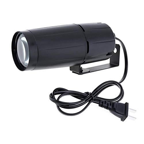 QIANGQSM Reflector LED 5W Rayo de luz Super Brillante lámpara Disco Efecto Etapa proyector de iluminación for KTV DJ Parte Lámpara de Mesa (Color : Red)