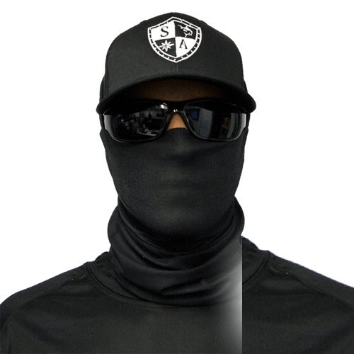 SA Company Herren Face Shield Tactical Black