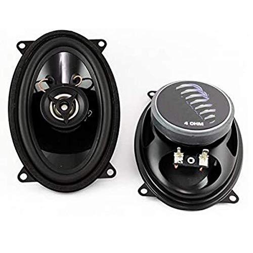 Sound-Way Altavoces coaxiales para automóvil de 2 vías 9 x 15 cm...