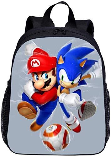 BATEKERYAS Juegos De Super Mario Bros Mochila Escolar Impresa En 3D Mochilas De Viaje Mochilas Escolares Mochila Escolar
