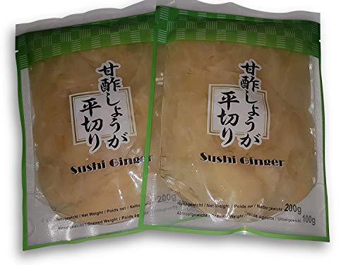 Sushi Gari eingelegter Ingwer Amazu-Gari, Amazu-Shoga 200g für Sushi und Sashimi