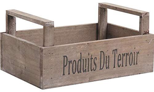 AUBRY GASPARD Caisse récolte Produits du terroir