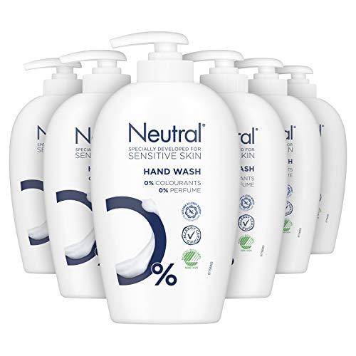 Neutral Handzeep Parfumvrij 6 x 250 ml Voordeelverpakking